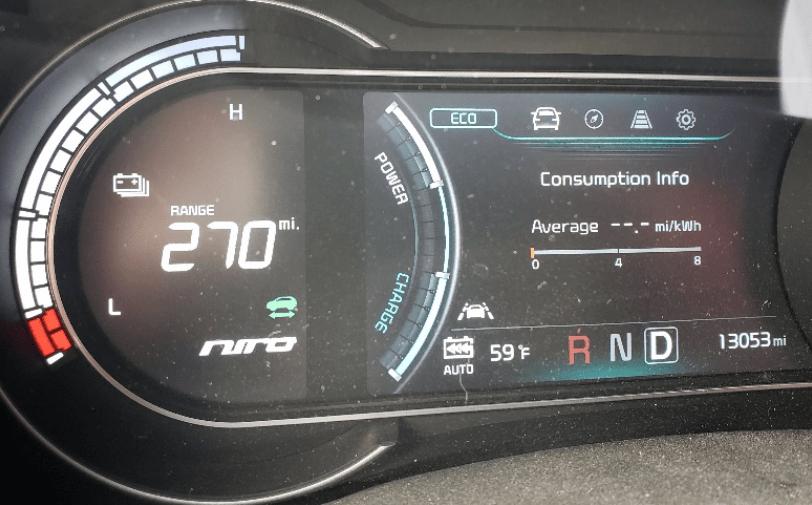 קיה נירו החשמלית Kia Niro EV